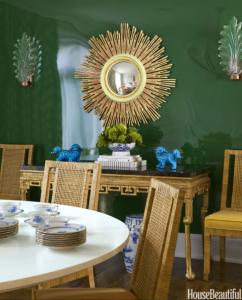 teal green colore pareti 2016