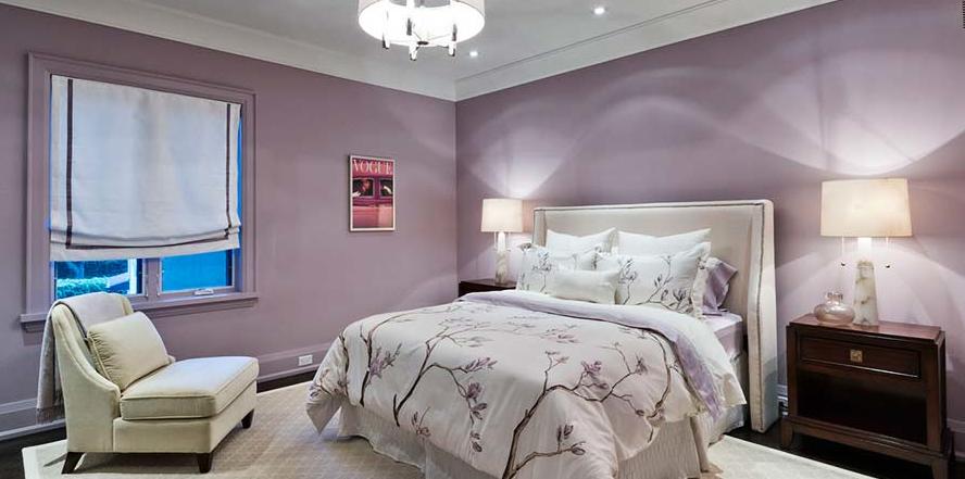 colore parete camera da letto spring liliac - Tigullio Design Infissi